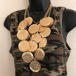 Jewelry - Gold Leaf 🍃 Statement Jewelry Set